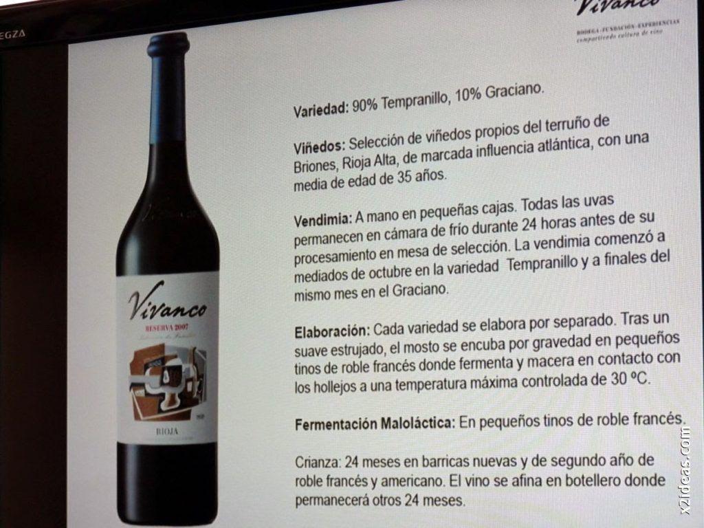 P1530070 1024x768 - Restaurante La Solana y Bodegas Vivanco excelente pareja.