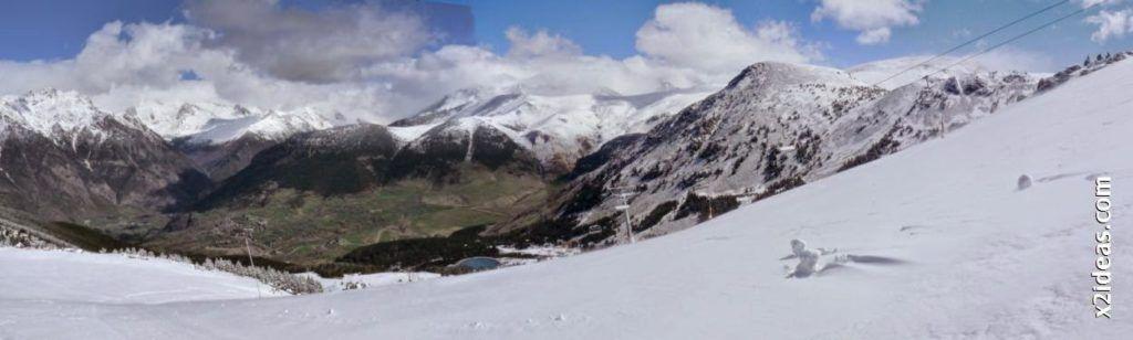 Panorama 1 1 1024x308 - Rincón del Cielo y Rabosa con nieve nueva.