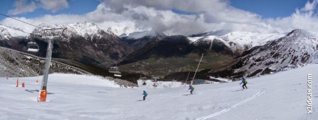 Panorama 2 1024x386 - Rincón del Cielo y Rabosa con nieve nueva.