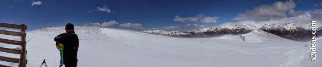 Panorama 5 1024x215 - Rincón del Cielo y Rabosa con nieve nueva.