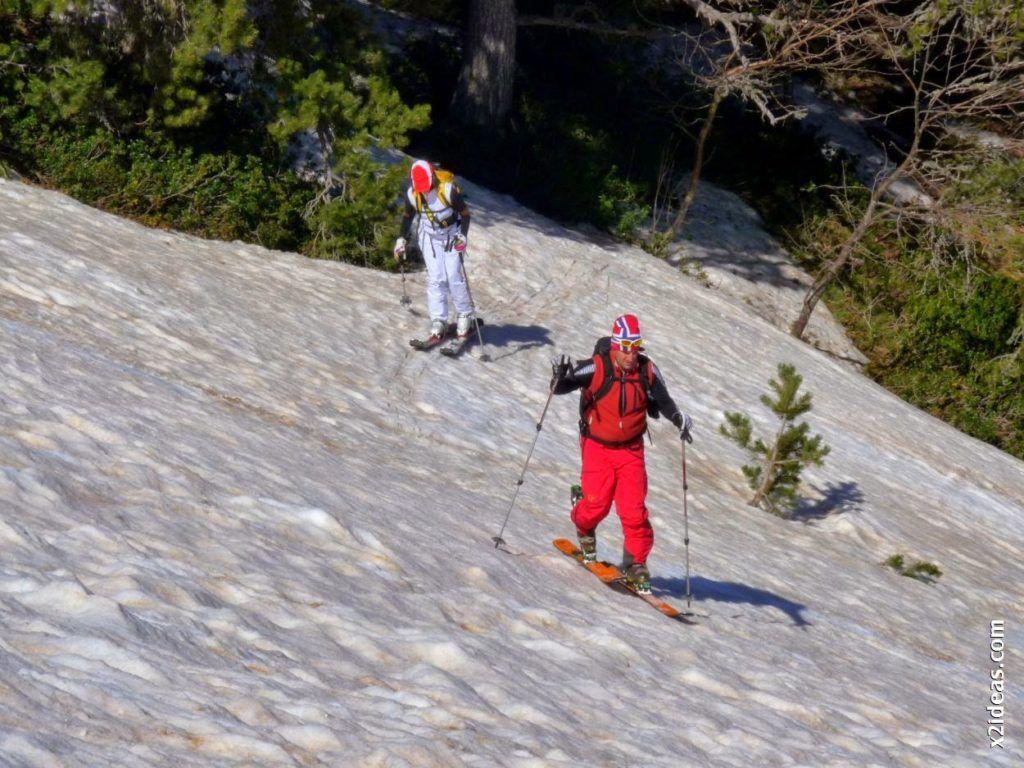 P1530956 1024x768 - Pico Castanesa con los noruegos, buena bajada ...