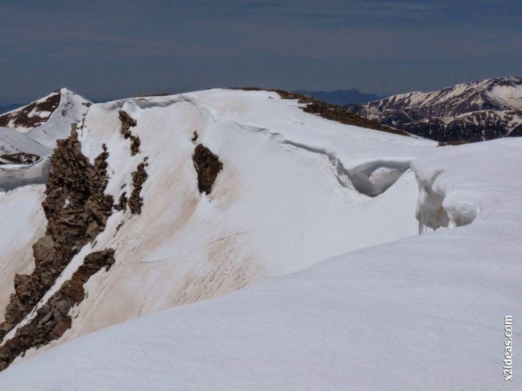 P1530971 1024x768 - Pico Castanesa con los noruegos, buena bajada ...
