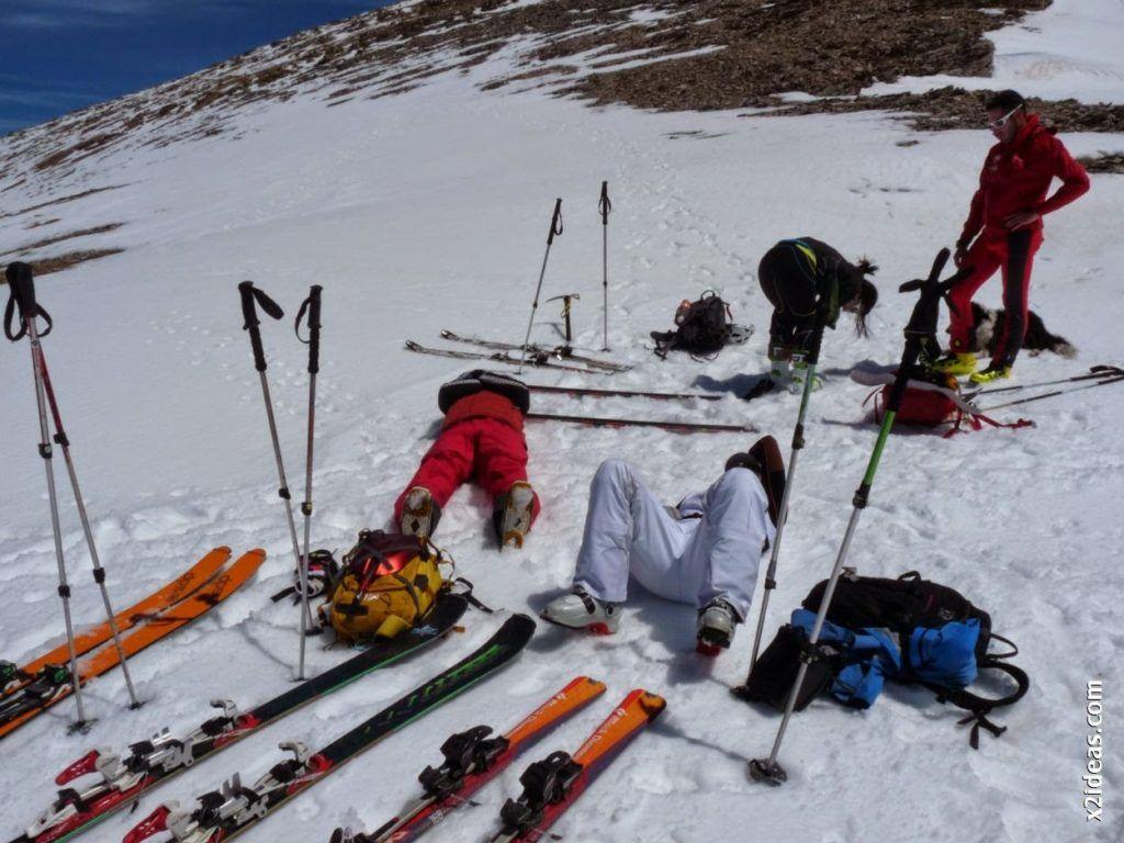 P1530987 1024x768 - Pico Castanesa con los noruegos, buena bajada ...