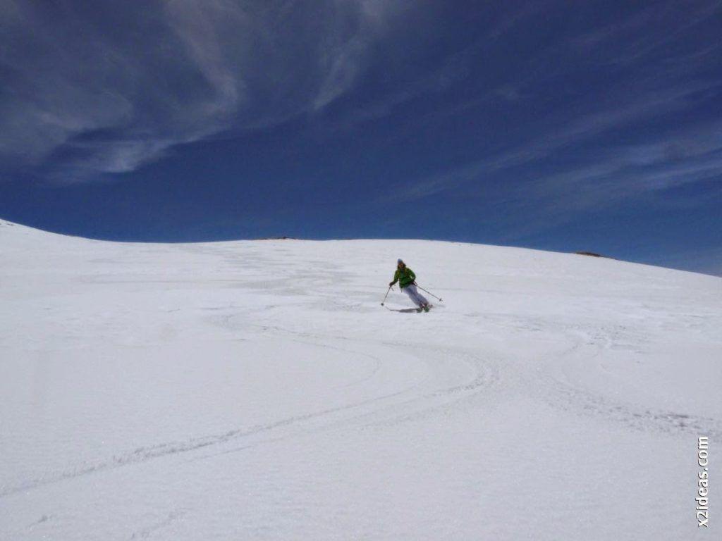 P1540003 1024x768 - Pico Castanesa con los noruegos, buena bajada ...