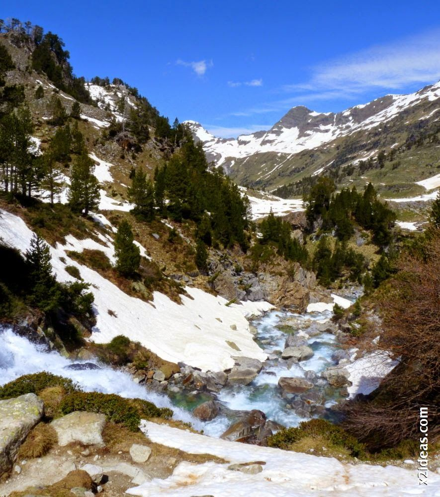Panorama 11 001 - Pisando nieve por Aigualluts, Valle de Benasque