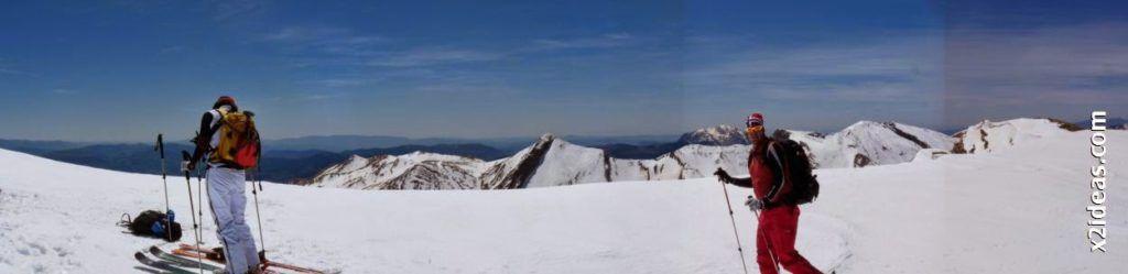 Panorama 3 1024x249 - Pico Castanesa con los noruegos, buena bajada ...