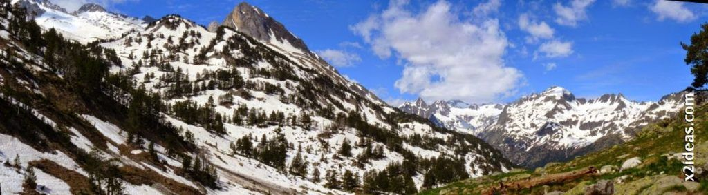 Panorama 5 001 2 1024x283 - Pisando nieve por Aigualluts, Valle de Benasque