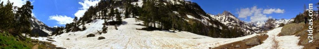 Panorama 7 001 2 1024x160 - Pisando nieve por Aigualluts, Valle de Benasque