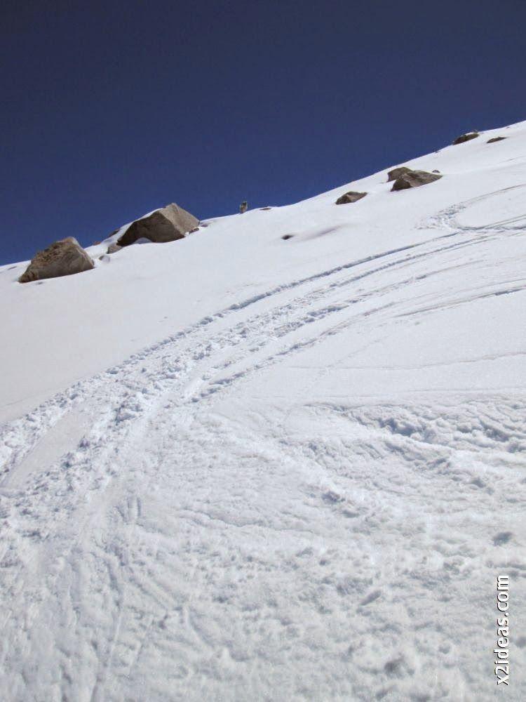IMG 0111 - Esquiando en el Glaciar de Maladeta en junio.