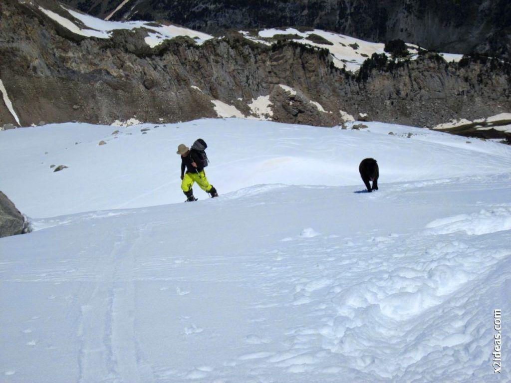 IMG 0114 1024x768 - Esquiando en el Glaciar de Maladeta en junio.