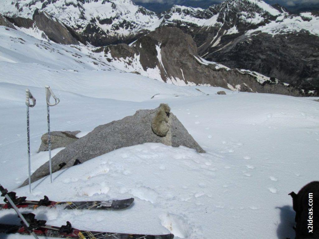 IMG 0125 1024x768 - Esquiando en el Glaciar de Maladeta en junio.