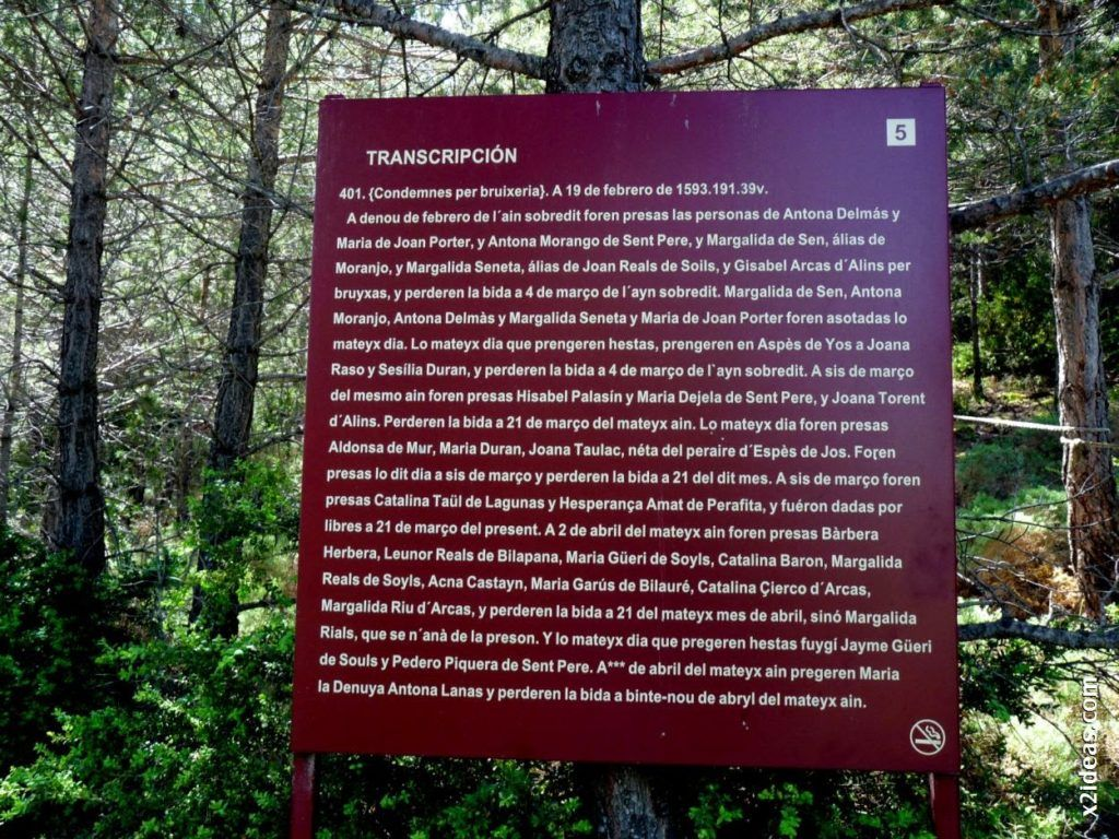 P1550123 1024x768 - Bosque de Brujas, Laspaúles.