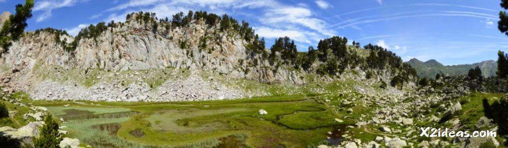 Meandros de Paderna 1024x298 - Ibón de Paderna, Valle de Benasque.