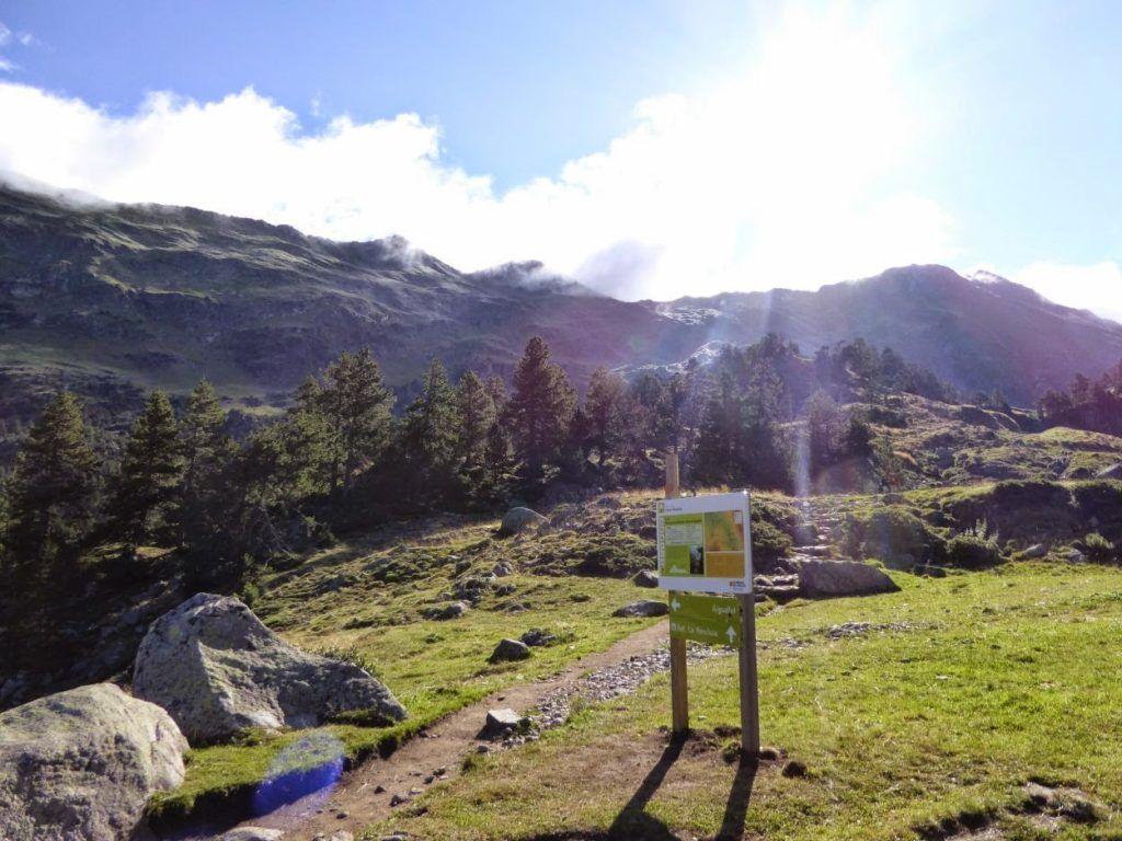 P1020002 1024x768 - Puesta a punto del pie por el Valle de Benasque.