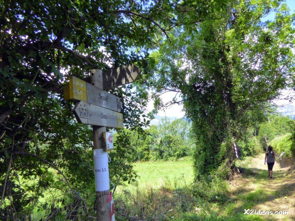 P1020058 1024x768 - Reconocimiento Trail & Caminata de Sesué, Valle de Benasque.