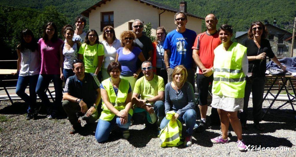 P1020499 1024x545 - 1ªTrail & Caminata de Sesué, Valle de Benasque. Fotos.