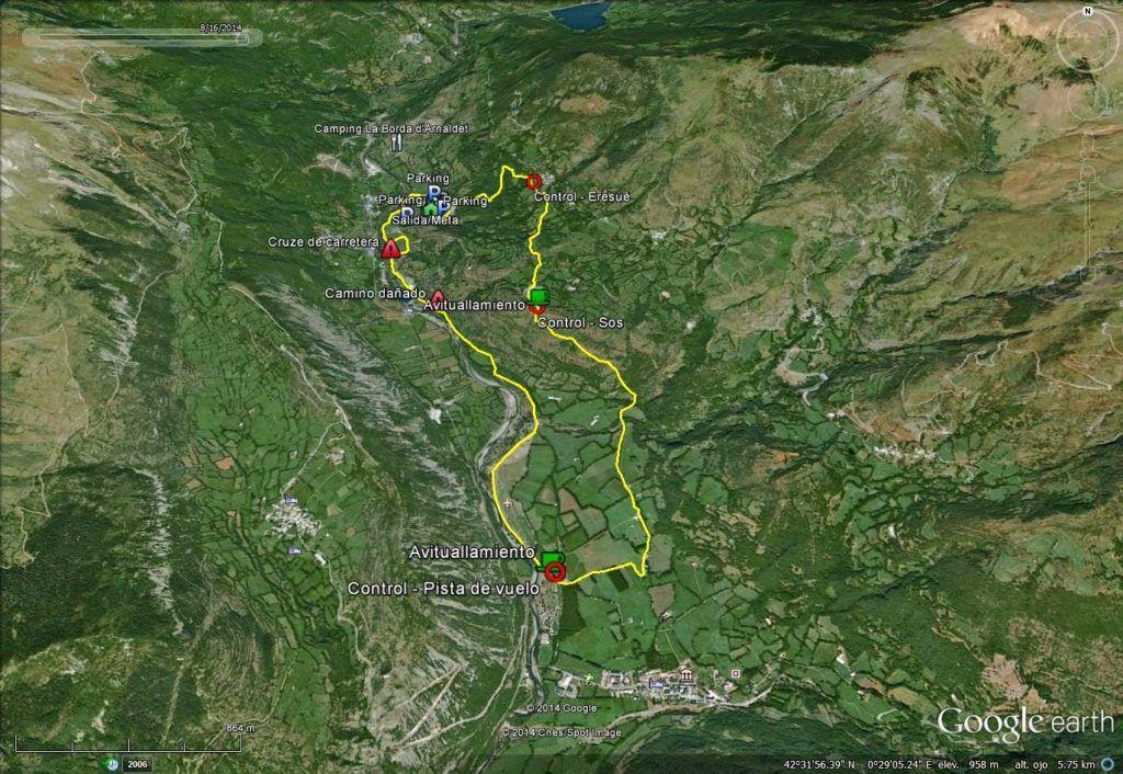 camisesué 1 1024x706 - Reconocimiento Trail & Caminata de Sesué, Valle de Benasque.