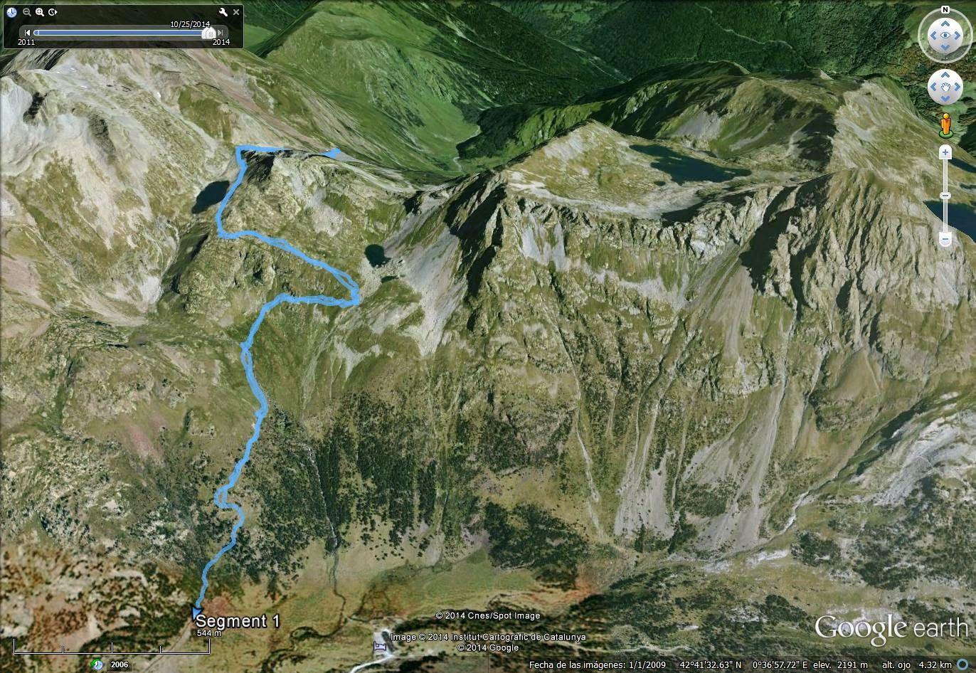 GorgutesNOV14 3 - Subiendo al pico Sacroux, Valle de Benasque