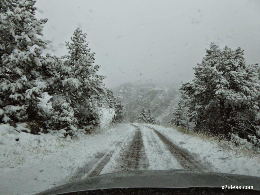 P1040276 1024x768 - Noviembre empieza con nieve en Cerler y el Valle de Benasque.