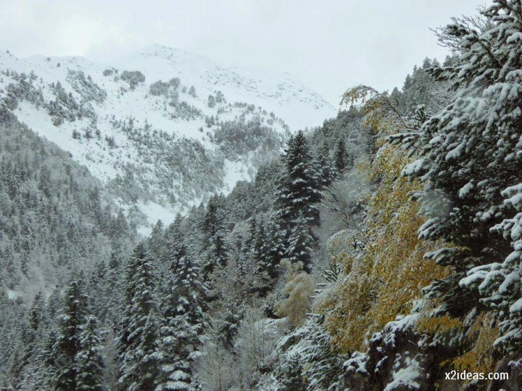 P1040291 1024x768 - Noviembre empieza con nieve en Cerler y el Valle de Benasque.