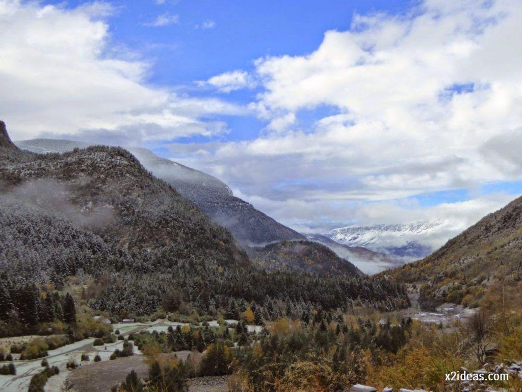 P1040298 1024x768 - Noviembre empieza con nieve en Cerler y el Valle de Benasque.