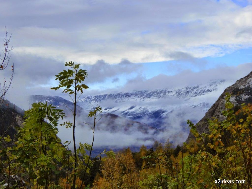 P1040303 1024x768 - Noviembre empieza con nieve en Cerler y el Valle de Benasque.