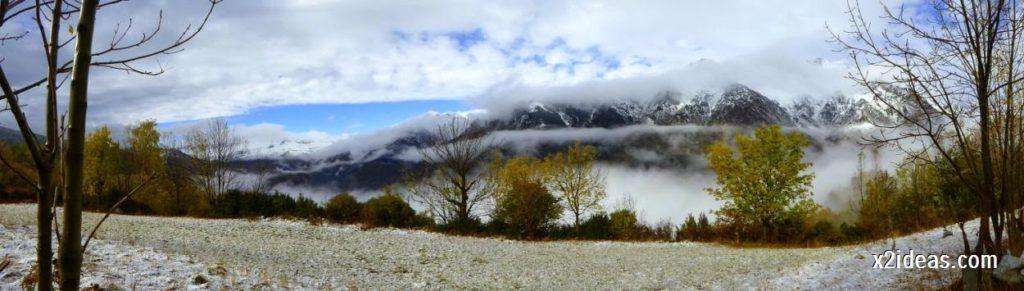 P1040308 1024x291 - Noviembre empieza con nieve en Cerler y el Valle de Benasque.
