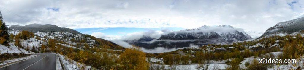 P1040322 1024x237 - Noviembre empieza con nieve en Cerler y el Valle de Benasque.