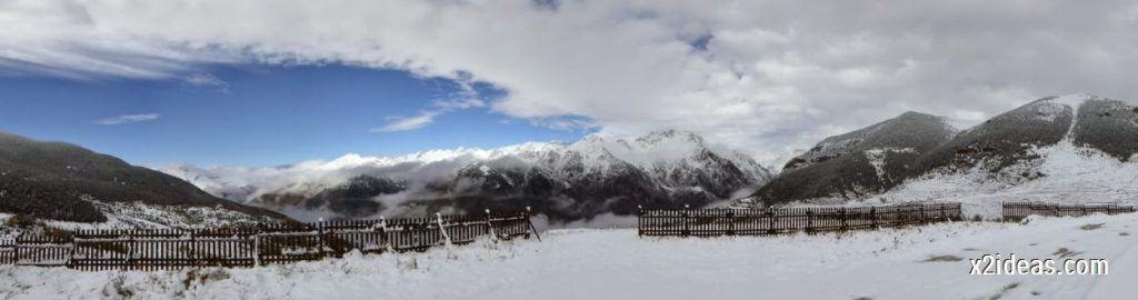 P1040340 1024x270 - Noviembre empieza con nieve en Cerler y el Valle de Benasque.