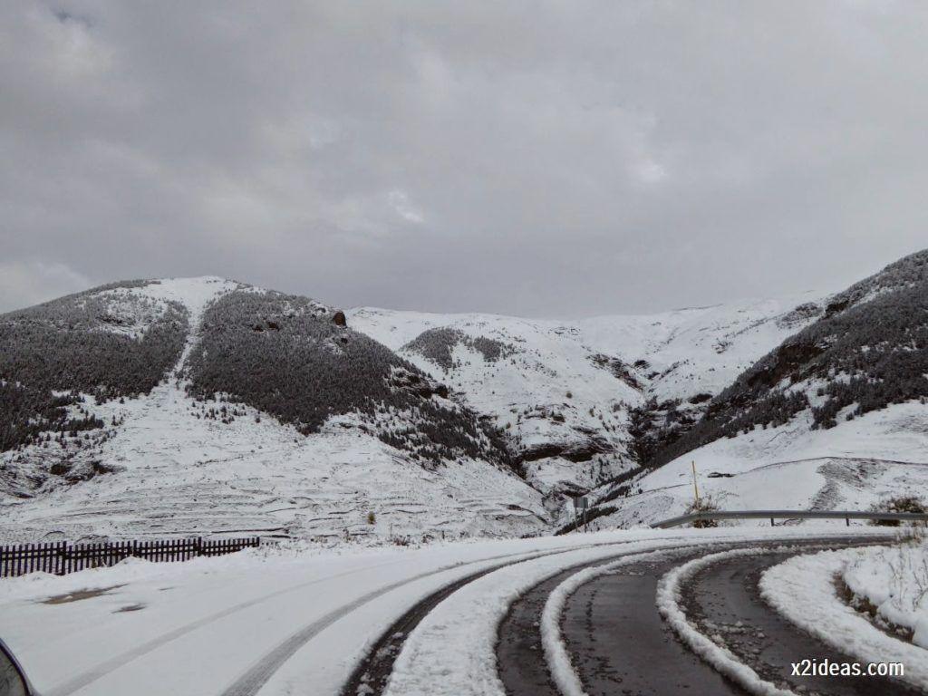 P1040344 1024x768 - Noviembre empieza con nieve en Cerler y el Valle de Benasque.
