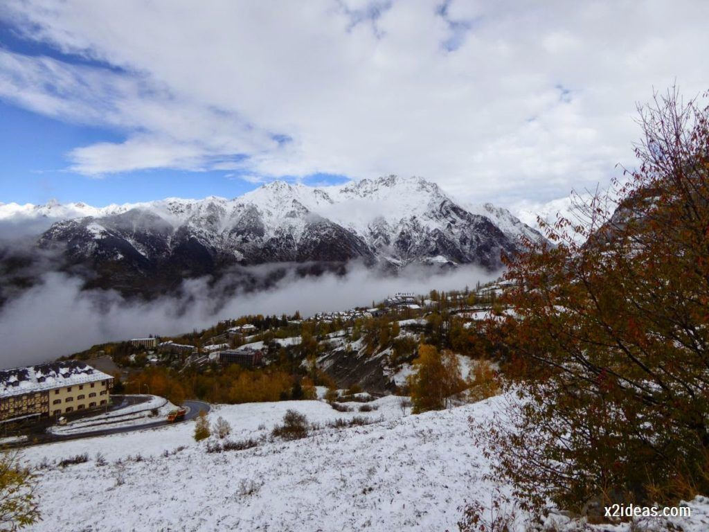 P1040347 1024x768 - Noviembre empieza con nieve en Cerler y el Valle de Benasque.