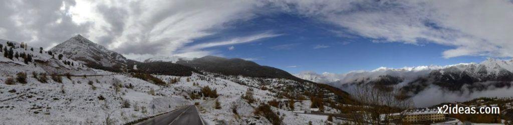 P1040354 1024x250 - Noviembre empieza con nieve en Cerler y el Valle de Benasque.