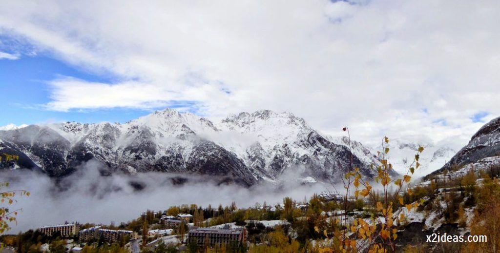 P1040356 1024x519 - Noviembre empieza con nieve en Cerler y el Valle de Benasque.