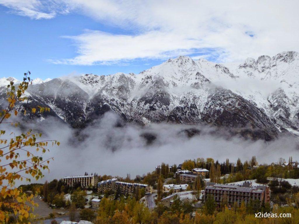 P1040357 1024x768 - Noviembre empieza con nieve en Cerler y el Valle de Benasque.
