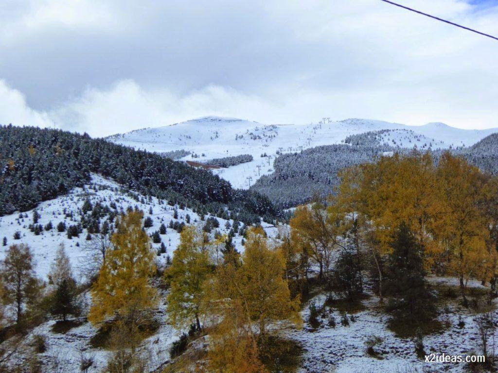 P1040358 1024x768 - Noviembre empieza con nieve en Cerler y el Valle de Benasque.