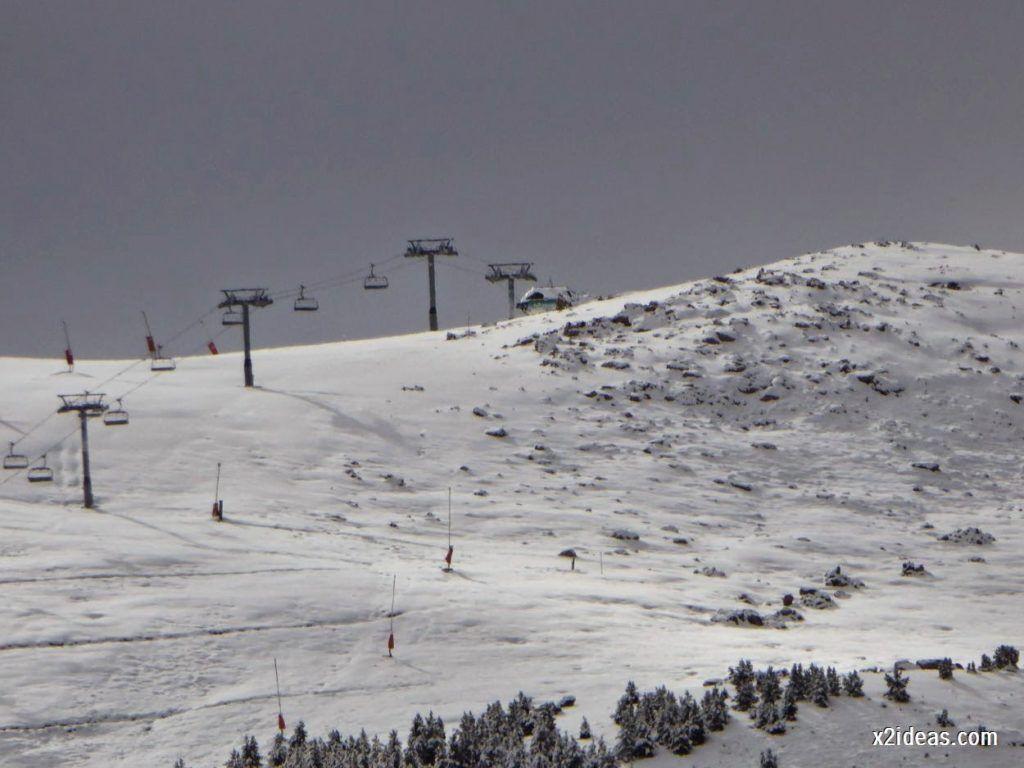 P1040365 1024x768 - Noviembre empieza con nieve en Cerler y el Valle de Benasque.
