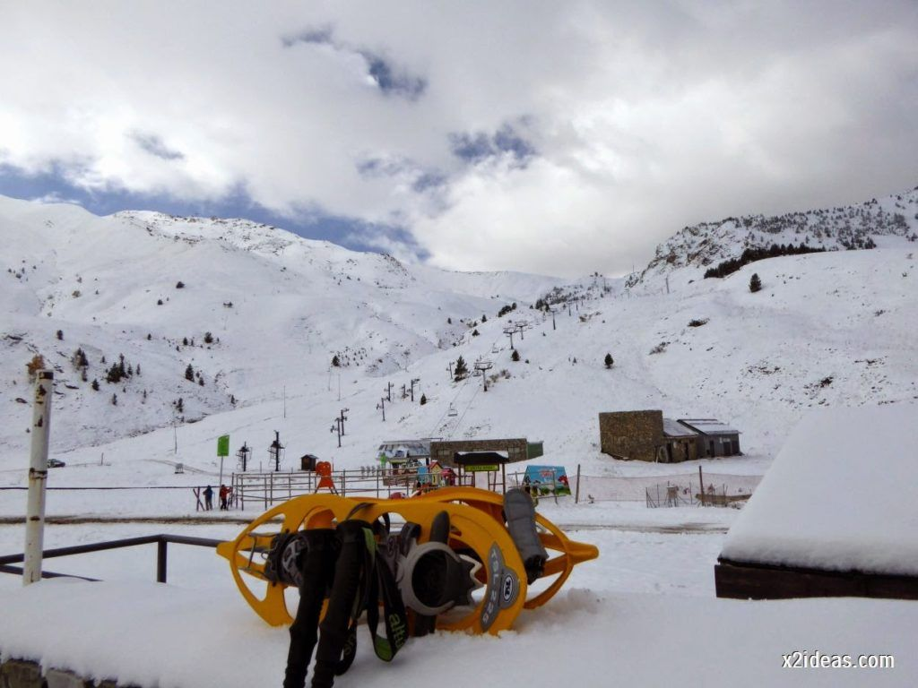 P1040411 1024x768 - Primera cata de nieve, Gallinero pero en raquetas.
