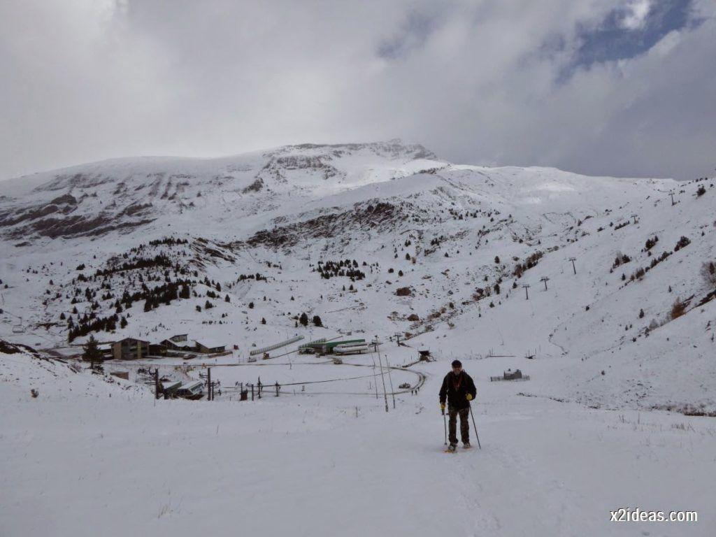 P1040417 1024x768 - Primera cata de nieve, Gallinero pero en raquetas.