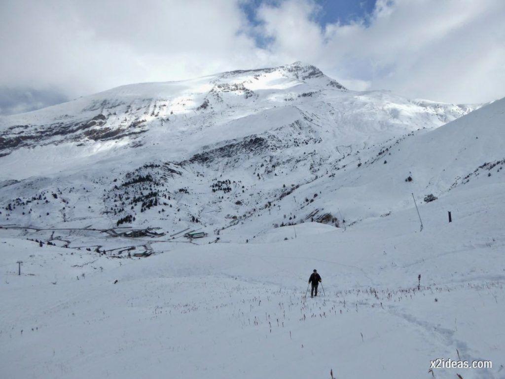 P1040421 1024x768 - Primera cata de nieve, Gallinero pero en raquetas.