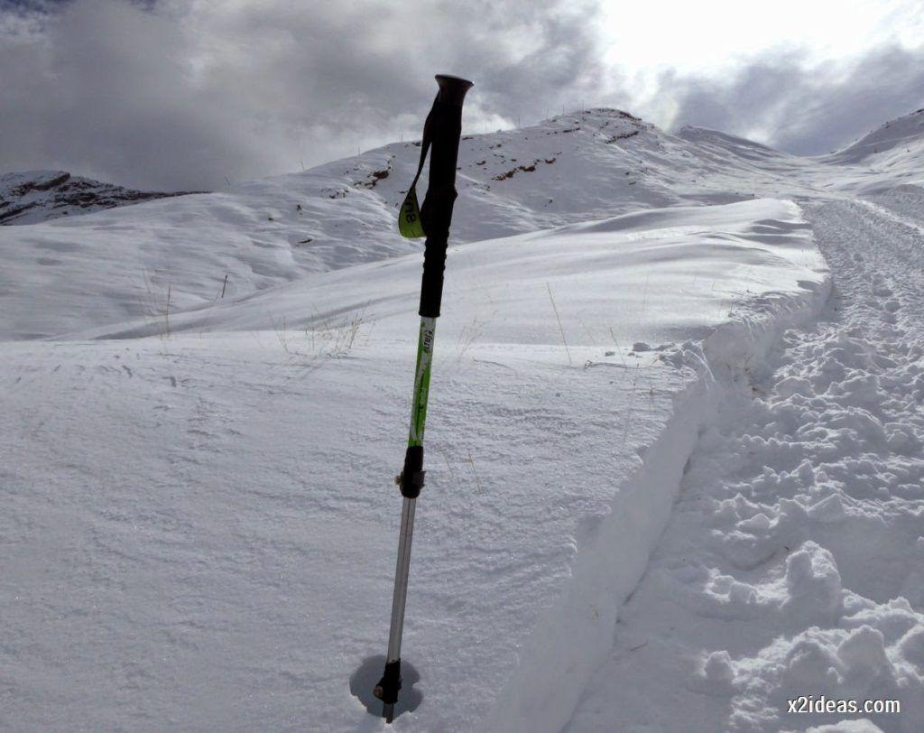 P1040438 1024x812 - Primera cata de nieve, Gallinero pero en raquetas.