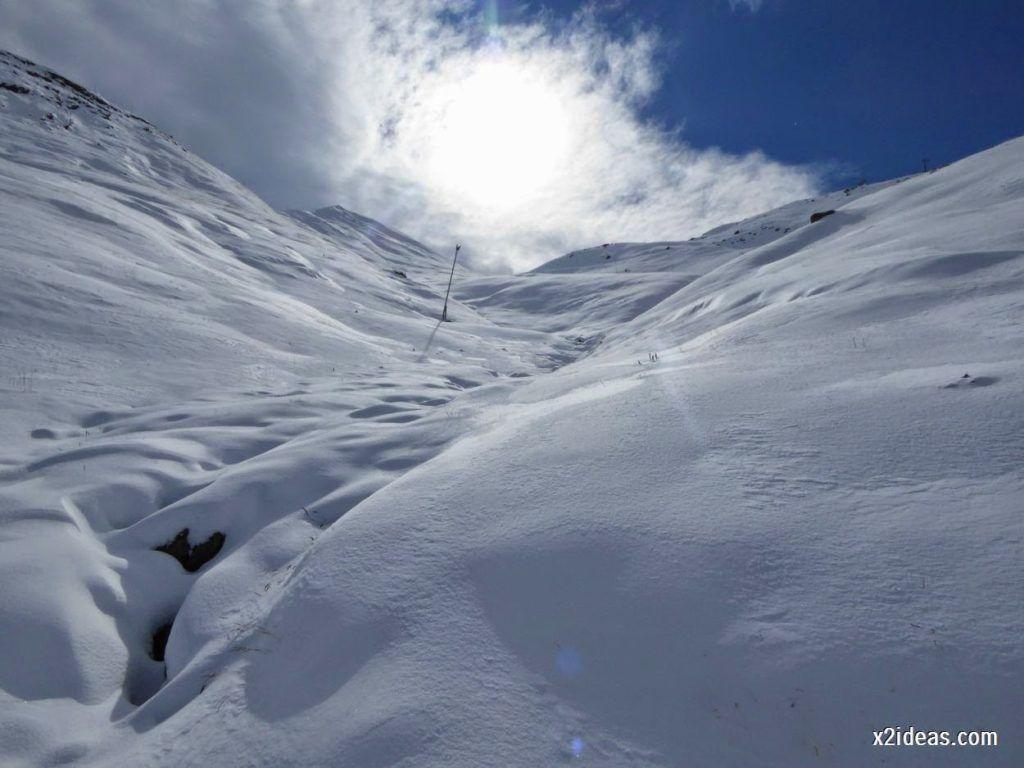 P1040441 1024x768 - Primera cata de nieve, Gallinero pero en raquetas.