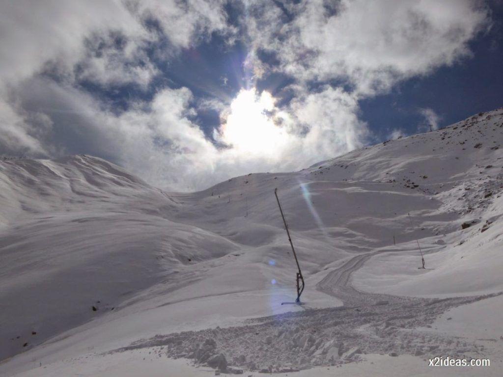 P1040442 1024x768 - Primera cata de nieve, Gallinero pero en raquetas.