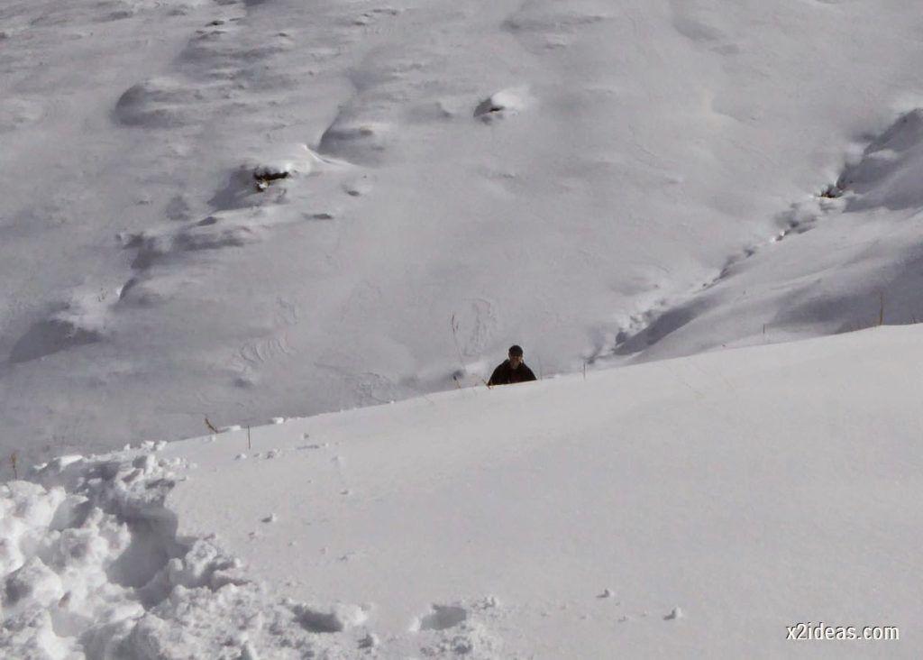 P1040445 1024x732 - Primera cata de nieve, Gallinero pero en raquetas.