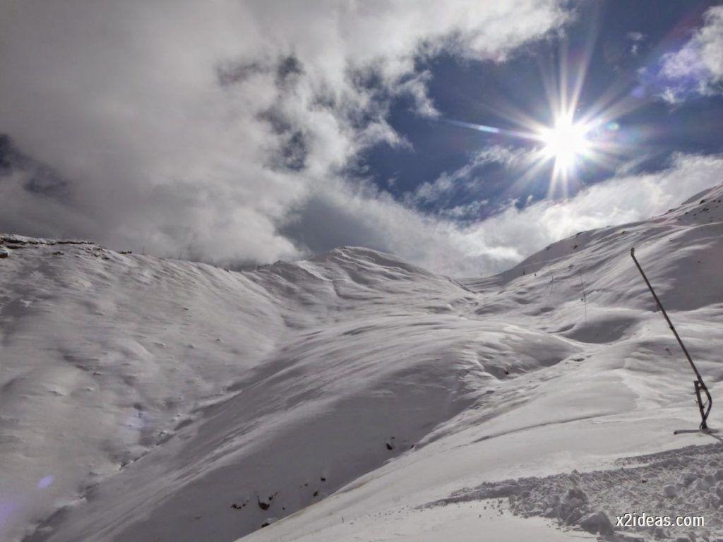 P1040446 1024x768 - Primera cata de nieve, Gallinero pero en raquetas.