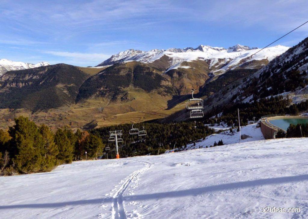 P1040994 1024x728 - Sexta esquiada, Cerler mantiene nieve polvo en cotas altas.