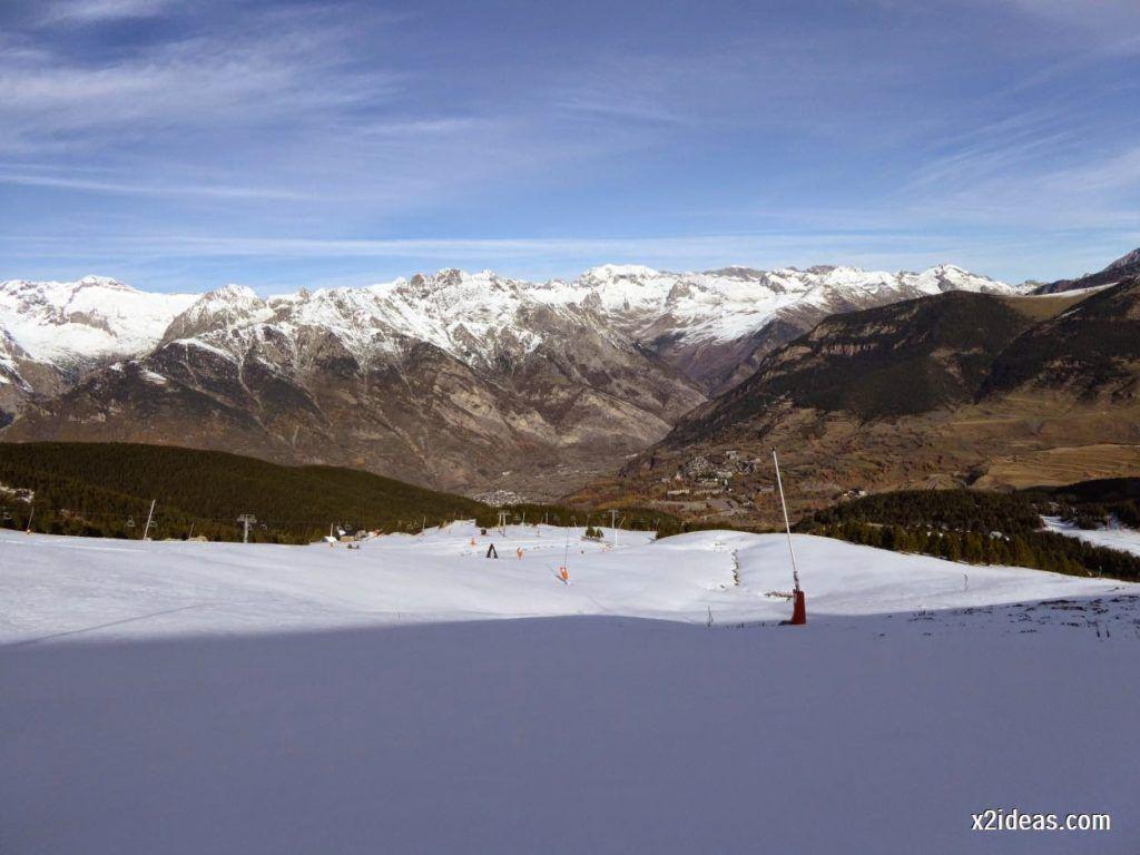 P1050010 1024x768 - Sexta esquiada, Cerler mantiene nieve polvo en cotas altas.
