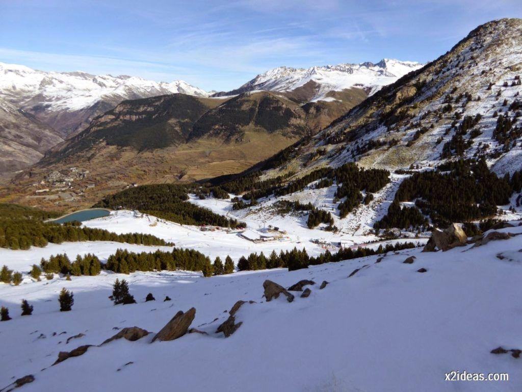 P1050011 1024x768 - Sexta esquiada, Cerler mantiene nieve polvo en cotas altas.