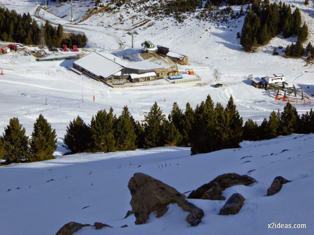 P1050012 1024x768 - Sexta esquiada, Cerler mantiene nieve polvo en cotas altas.