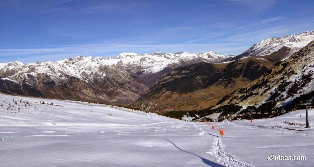 P1050026 1024x547 - Sexta esquiada, Cerler mantiene nieve polvo en cotas altas.