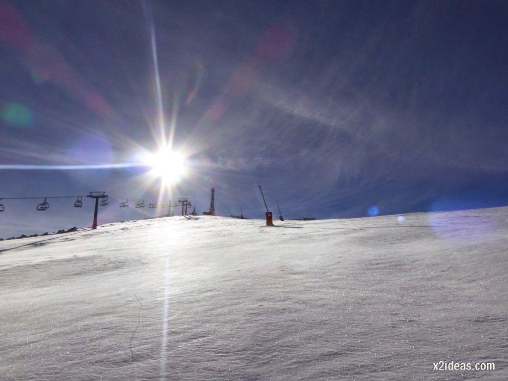 P1050027 1024x768 - Sexta esquiada, Cerler mantiene nieve polvo en cotas altas.